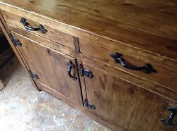 La Coty A Hand-crafted Sideboard With Cast Iron Fittings