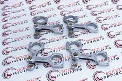 Manley Pro Series I Beam Rods For Ford 7.3l Powerstroke Stock Length W/stock Pin