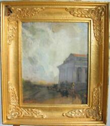 LISTED FAMOUS RUSSIA ILYA REPIN STOCK EXCHANGE ST.PETERSBURG 1908 OIL PAINTING