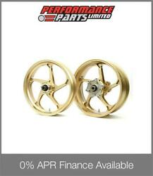 Galespeed Gp1s Curved 5 Spoke Gold Forged Alloy Wheels Bmw S1000rr 2011