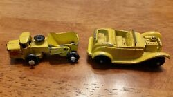 Antique Toy Cars - Marx Line Mar, Tootsie Toy
