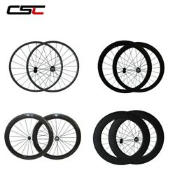 Superlight Carbon Wheels Clincher Tubuar Factory Price Road Bike Carbon Wheelset