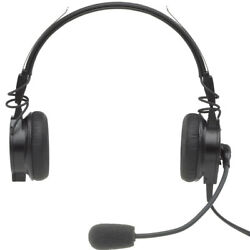 Telex Airman 850 Anr Airbus Lightweight Headset Needs No Battery Or Panel Power