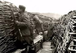 World War 1 Trenches Glossy Poster Picture Photo Print Banner Wwi Soldiers 3262