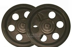 Two 2410285 Track Idler For Cat 304 304.5 304cr 305 305.5 Excavator