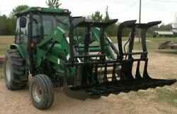 Root And Brush Grapple For Front End Loader Or Skid Steer Free Shipping