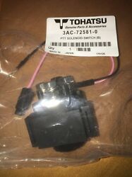 Genuine Power Trim & Tilt Relay for 25 30HP Tohatsu Outboard 3AC-72581-0 (DOWN)