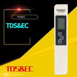 Purity Monitor Pen Tester TDS EC Meter Tap Drinking Hydroponics Water Resist Pen