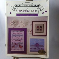 1983 Rainbow Chasers A Snowbirds Song Graphs for Chicken-Scratch or Cross-Stitch