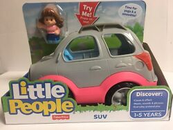 Fisher-price Little People Suv - 2016 Model- Hard To Find - New