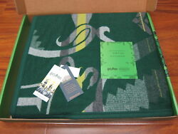 Pendleton Harry Potter Slytherin Blanket 64x80 Limited Edition Made In Usa