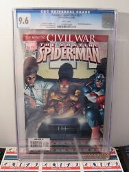 Amazing Spider-man 531 Marvel 6/06 White Pages Cgc 9.6