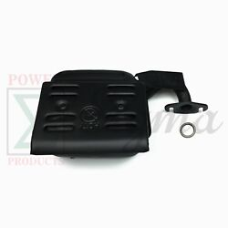 New Muffler And Gasket For Amico Ag1500 Diesel Pro Sparks 1250 Generators
