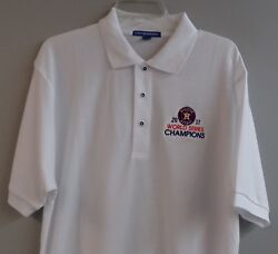 Houston Astros World Series Champions Embroidered Mens Polo Xs-6xl Lt-4xlt New