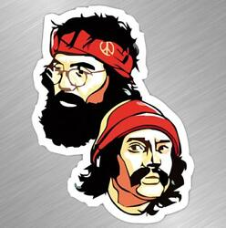 Cheech And Chong Vinyl Decal Sticker Car Truck Laptop Funny Stoner Weed Thc