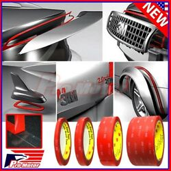 3m Vhb 4910 Car Truck Auto Transparent Clear Double Sided Tape 1/4 1/2 1 2