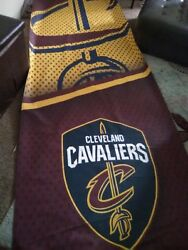 Cleveland Cavaliers Nba Licensed 11x14 Window Mount 2-sided Car Flag