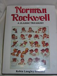 Norman Rockwell A Classic Treasury By Robin Langley Sommer And Norman...