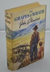 John Steinbeck - The Grapes Of Wrath - First Edition First Printing - 1939