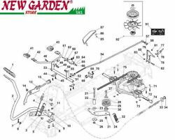 Transmission Exploded View 26in Xe966hdb Bands950 Mower Lawn Mower Castelgarden