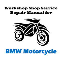 Workshop Shop Service Repair Manual for BMW R1200RT  R 1200 RT - ALL YEARS