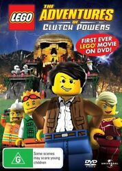 The Adventures of Clutch Powers First Lego Movie o Region 4 DVD VGC
