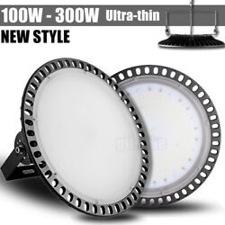 100W 200W 300W LED High Bay Light Warehouse Fixtures Industry Office Lamp NEW