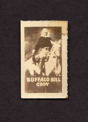 William F. Buffalo Bill Cody, Figures Of The Wild West No. 2 Trading Card