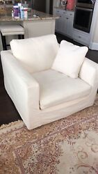 Chair And Sofas Parker Slipcover Sofa's From High Fashion Homes