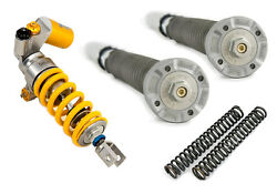 OHLINS Combo NIX Fork Cartridges TTX Rear Shock Springs Yamaha YZF R1 2009-14