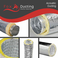 Hydroponic Acoustic Insulated Ducting Ventilation Duct 315mm 12