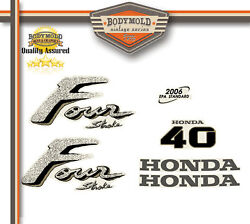 Honda 40hp 4 Stroke Decals/stickers Quality Product