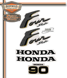 Honda 90hp 4 Stroke Decals/stickers Quality Product
