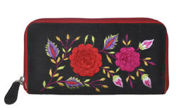 Fashion Designer Cotton Christmas Clutch Purse Embroidered Hand Bag For Girl's