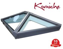 Korniche Aluminium Roof Lantern. 1m X 2m Various Frame Colours Available