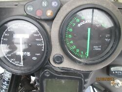 2001 Ducati St4 Instrument Gauge Cluster Speedometer Tach Used May Fit 1998-2003