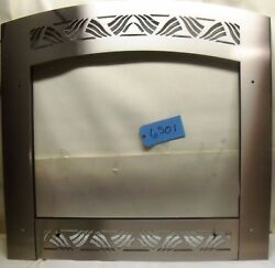 Fireplace Frame Archfront Nantucket Brushed Pewter Id 30x 23 1/2 Free Shipping