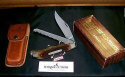 Schrade 225ot Knife Son Of A Gun W/sheath 1990-92 And Original Packaging,papers