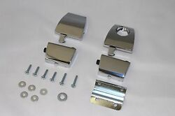 PREMIUM CHROME TOUR PAK LATCHES Compare to 53000252 HARLEY KING ULTRA RAZOR