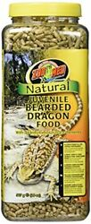 Zoo Med 20-Ounce Natural Bearded Dragon Food Juvenile Formula