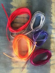 "18"" grosgrain ribbon for Model horse tack making halters breyers. 20+ yard lot"