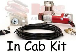 Boss In Cab Kit Air Compressor And Controls For Air Suspension Load Assist Kits