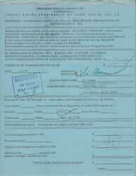 VIC MORROW COMBAT RARE SIGNED 1972 DOCUMENT CONTRACT AUTOGRAPHED W COA