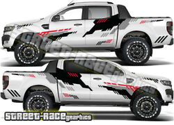 Ford F 150 Rally 018 Truck Decals Stickers Graphics Wildtrack Ranger 4x4 Offroad