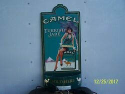 Camel Cigarettes Advertising Tobacciana Store Display Lighted Sign