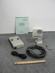 Fujinon Cpt-70f-02a Remote-controlled Pan Tilt Head W/ Controller And Cables