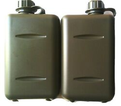 X2 South African Army 2l Bottle Canteen Military- O Ring Sealed Lid Bpa Free