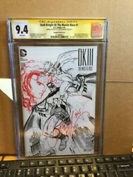 Dark Knight Iii The Master Race 1 Cgc 9.4 Signed J Scott Campbell Sketch And Sig