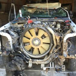 2008 Ford F550 Complete Rear Axle Assembly 109k Miles Gear Ratio 4.88
