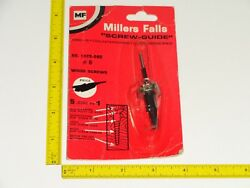 Millers Falls Screwmate Adjustable Boatbuilder Nos Countersink Drill Bit 5 6 And 7